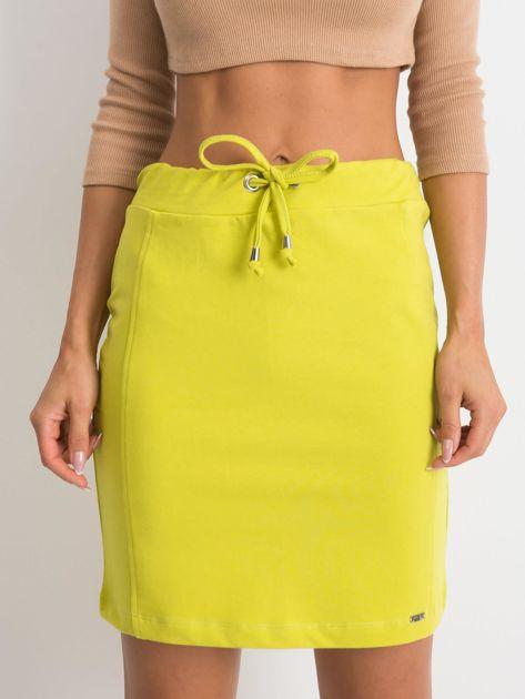 Limonkowa spódnica Increasingly                              zdj.                              1