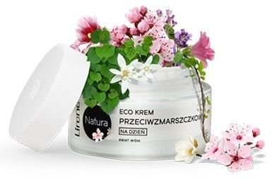 Lirene NATURA ECO Krem wygładzająco - łagodzący na dzień organiczny czarny bez - cera wrażliwa i naczynkowa 50 ml                              zdj.                              2