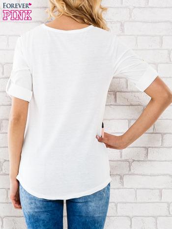 Łososiowa bluzka w groszki                                  zdj.                                  4