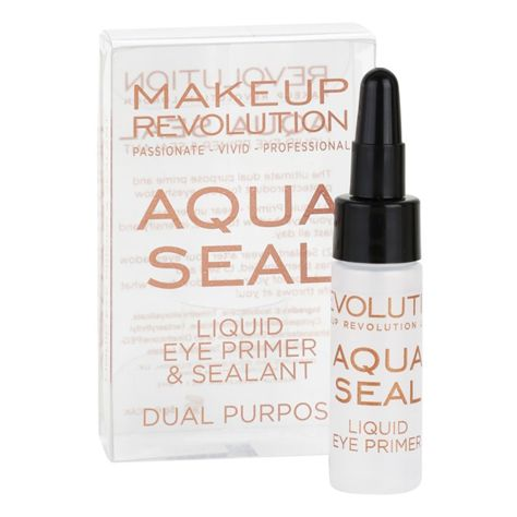 MAKEUP REVOLUTION Baza pod cienie & utrwalacz 2w1 Aqua Seal Liquid Eye Primer & Sealant 6 g                              zdj.                              2