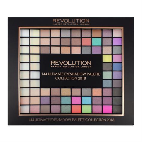 """Makeup Revolution 144 Ultimate Eyeshadow Palette Zestaw cieni do powiek  116g"""""""