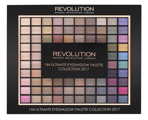 "Makeup Revolution 2017 Collection Palette 144 Zestaw cieni do powiek (144 kolory) 116g"""