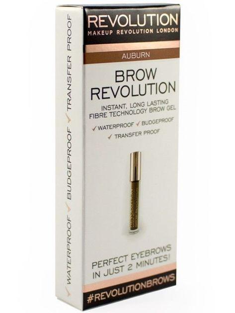 Makeup Revolution Brow Revolution Żel do brwi Auburn 3.8g