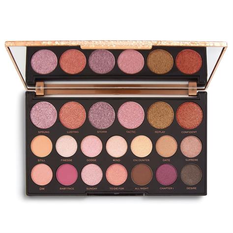 Makeup Revolution Jewel Collection Palette 20 Zestaw cieni do powiek Deluxe 13g (20 kolorów)