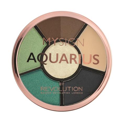 """Makeup Revolution My Sign Complete Eye Base Zestaw do makijażu oczu i brwi Aquarius  1szt"""""""