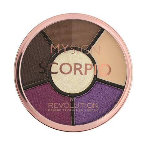 """Makeup Revolution My Sign Complete Eye Base Zestaw do makijażu oczu i brwi Scorpio  1szt"""""""