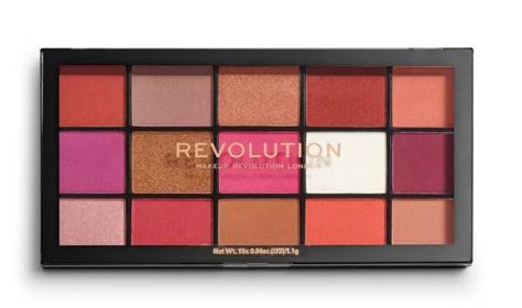Makeup Revolution Re-Loaded Paleta cieni do powiek Red Alert 16,5 g