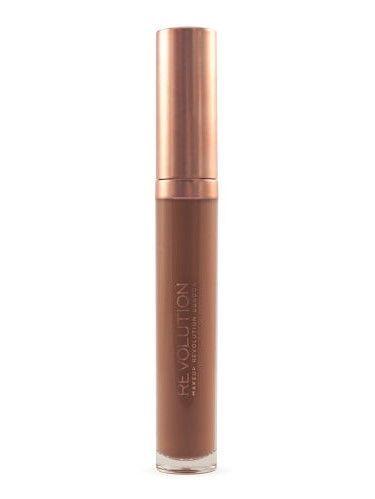 Makeup Revolution Retro Luxe Gloss Lip Kit Zestaw do ust konturówka 1g + matowa pomadka w płynie 5,5ml Noble                              zdj.                              5