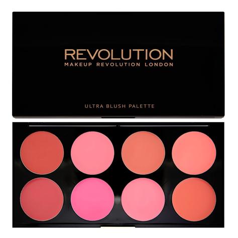 Makeup Revolution Ultra Blush Palette Paleta róży do policzków w kremie All About Cream 13 g