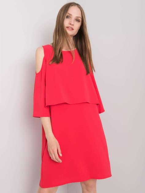 Malinowa sukienka Susanne RUE PARIS