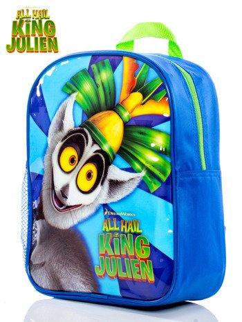 Mały plecak dziecięcy DREAMWORKS All Hail King Julien niebieski
