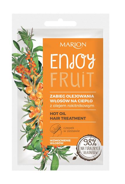 """Marion Enjoy Fruit Zabieg olejowania włosów na ciepło 20ml""""                              zdj.                              1"""
