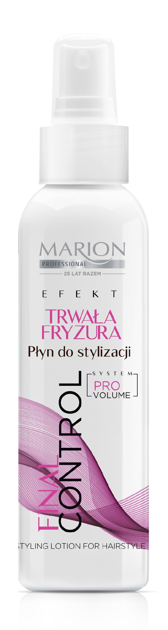 "Marion Final Control Płyn do stylizacji Utrwalona Fryzura  200ml"""