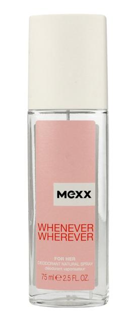 "Mexx Whenever Wherever for Her Dezodorant naturalny spray  75ml"""