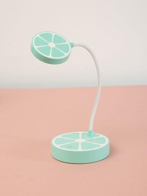 Miętowa lampka dotykowa LED na USB                              zdj.                              1