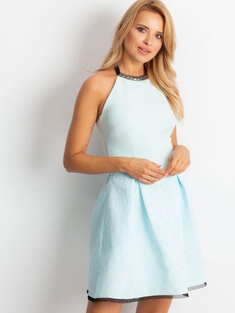 Miętowa sukienka Kim                              zdj.                              1