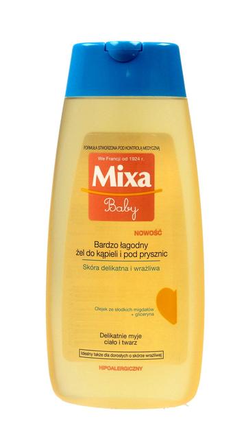 """Mixa Baby Bardzo Łagodny Żel do kąpieli i pod prysznic 200ml"""""""