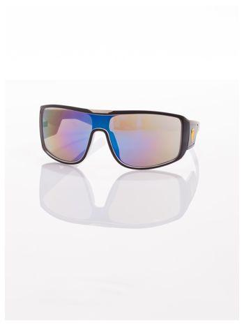 Modne męskie okulary przeciwsłoneczne w stylu Beckhamki                                   zdj.                                  4