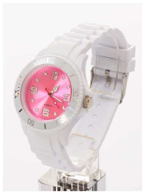 Modny zegarek damski na silikonowym pasku                                  zdj.                                  2