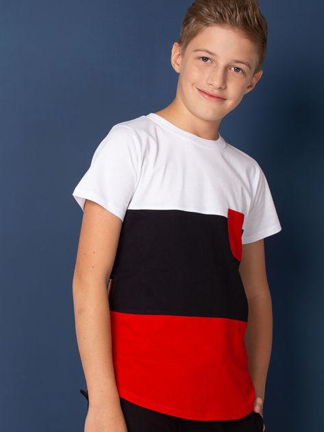 Modułowy t-shirt dziecięcy z suwakami                              zdj.                              4