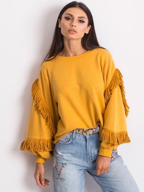 Musztardowa bluza Silvia                              zdj.                              1
