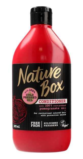 """Nature Box Pomegranate Oil Odżywka do włosów chroniąca kolor  385ml"""""""