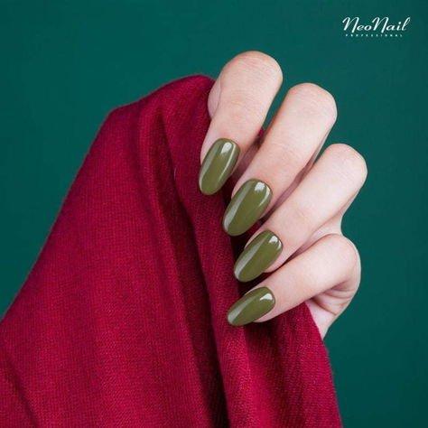 NeoNail Lakier Hybrydowy 6371 - Unripe Olives 7,2 ml                               zdj.                              2