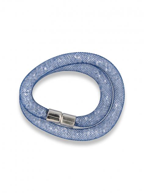 Niebieska  Bransoletka magnetyczna STARDUST