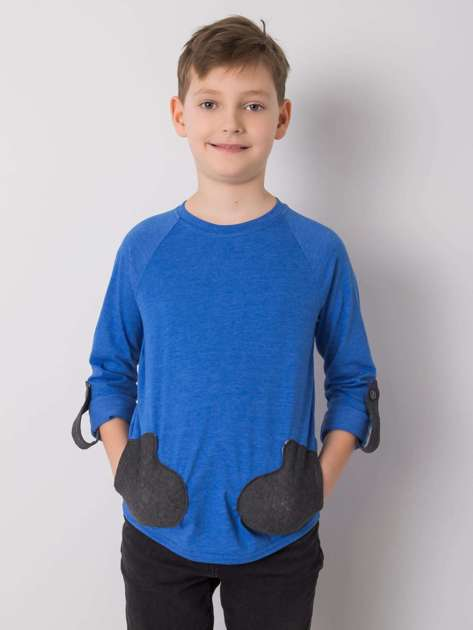 Niebieska bluzka dla chłopca DODO KIDS