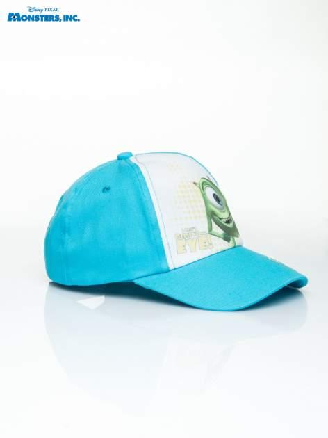 Niebieska chłopięca czapka z daszkiem POTWORY I SPÓŁKA                                  zdj.                                  2