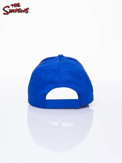 Niebieska chłopięca czapka z daszkiem SIMPSONOWIE                                  zdj.                                  3