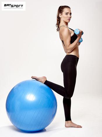 Niebieska duża piłka fitness                                  zdj.                                  2