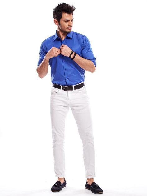 Niebieska koszula męska                                   zdj.                                  5