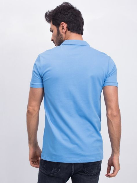 Niebieska koszulka polo Coastal                              zdj.                              2