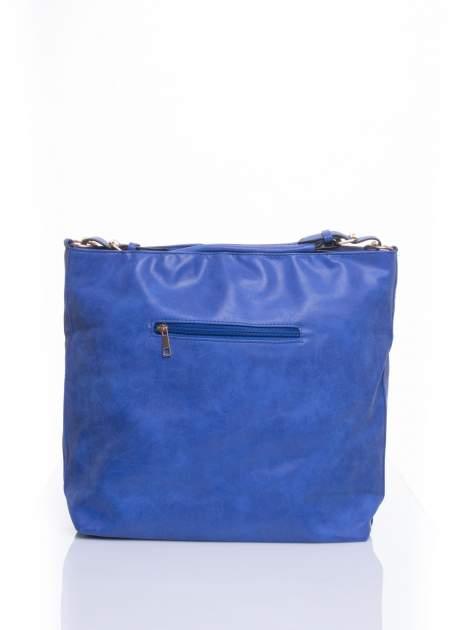 Niebieska siateczkowa torba hobo                                  zdj.                                  2