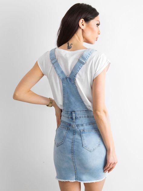 Niebieska spódnica Freshly                              zdj.                              2