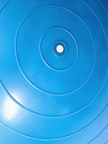 Niebieska średnia piłka fitness                                   zdj.                                  4