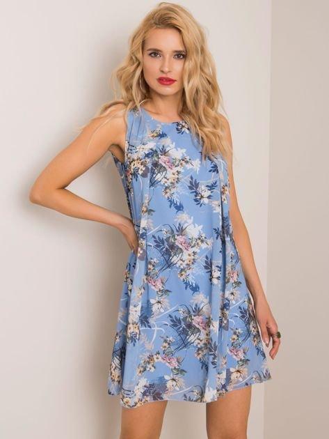 Niebieska sukienka Daria SUBLEVEL
