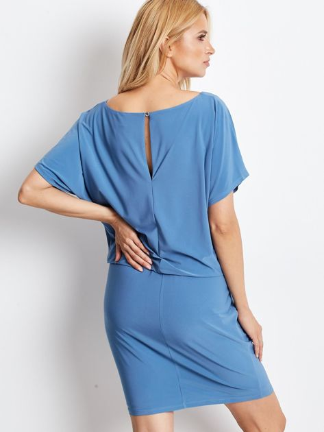 Niebieska sukienka Peak                              zdj.                              2
