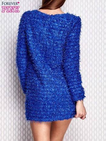 Niebieska sukienka fluffy                              zdj.                              4