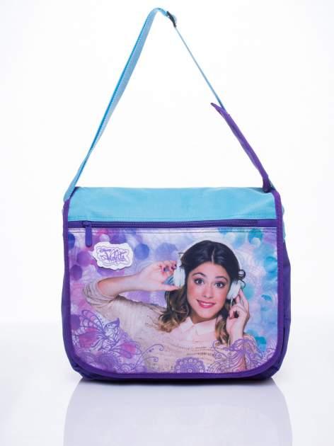 Niebieska torba szkolna DISNEY Violetta