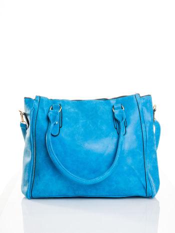 Niebieska torebka miejska                                  zdj.                                  1