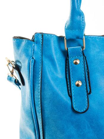 Niebieska torebka miejska                                  zdj.                                  6