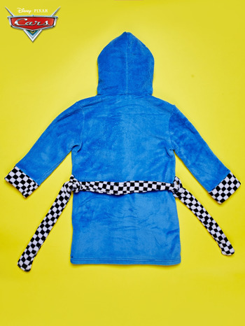 Niebieski chłopięcy szlafrok CARS                                  zdj.                                  3