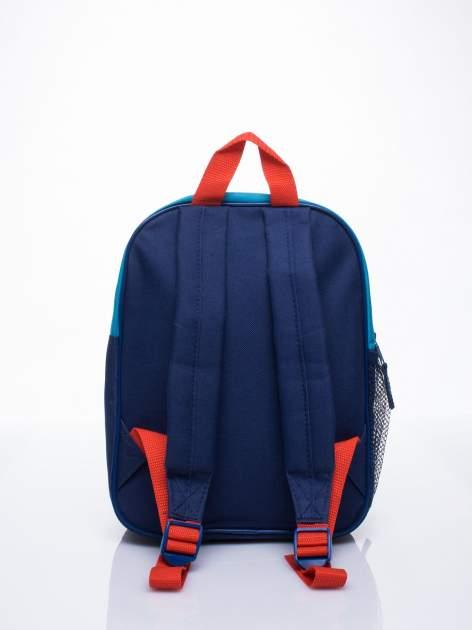 Niebieski plecak szkolny DISNEY w paski                                  zdj.                                  3