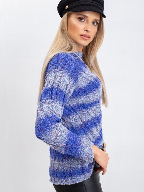 Niebieski sweter Madison                              zdj.                              5