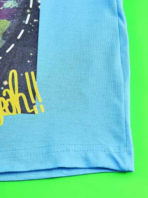 Niebieski t-shirt chłopięcy GUMBALL                                  zdj.                                  5