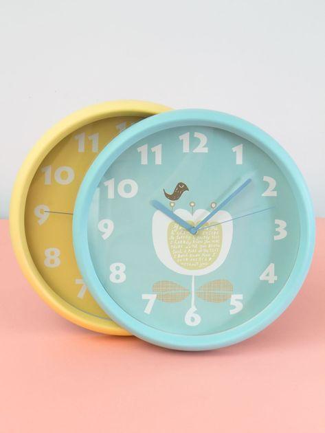 Niebieski zegar ścienny                               zdj.                              1