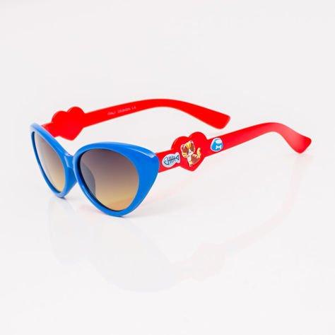 Niebieskie Dziecięce Okulary przeciwsłoneczne                              zdj.                              2
