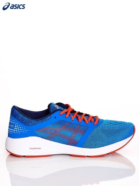 Niebieskie buty męskie sportowe ASICS RoadHawk FF                              zdj.                              1